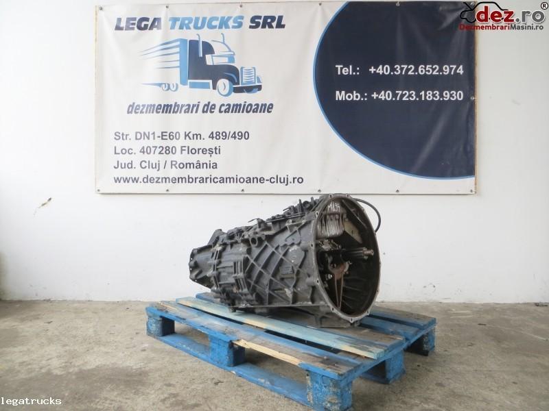 Cutie de viteze MAN automata fara intarder 15,86 - 1,00 Dezmembrări camioane în Floresti, Cluj Dezmembrari