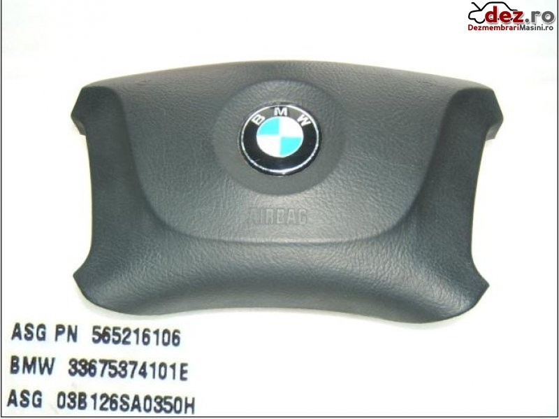 Airbag volan BMW 524 2003 Piese auto în Aiud, Alba Dezmembrari