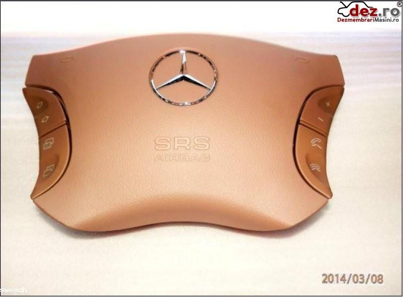 Mercedes benz s classe w220 cl w215 airbag crem nou ani fabricatie 1999 2006 Dezmembrări auto în Aiud, Alba Dezmembrari