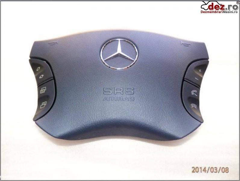 Mercedes benz cl w215 airbag nou ani fabricatie 1999 2006 negru pret 270 euro Dezmembrări auto în Aiud, Alba Dezmembrari