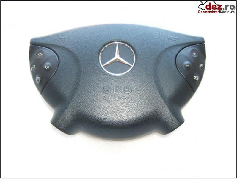 Mercedes e classe w211 airbag sofer model 2003 2007 Dezmembrări auto în Aiud, Alba Dezmembrari