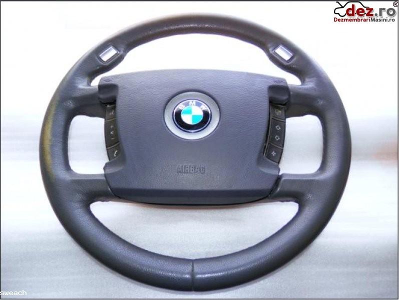 Bmw seria 7 e65 66 airbag si volan gri piele comenzi 2001 2008 in 4 spite... Dezmembrări auto în Aiud, Alba Dezmembrari