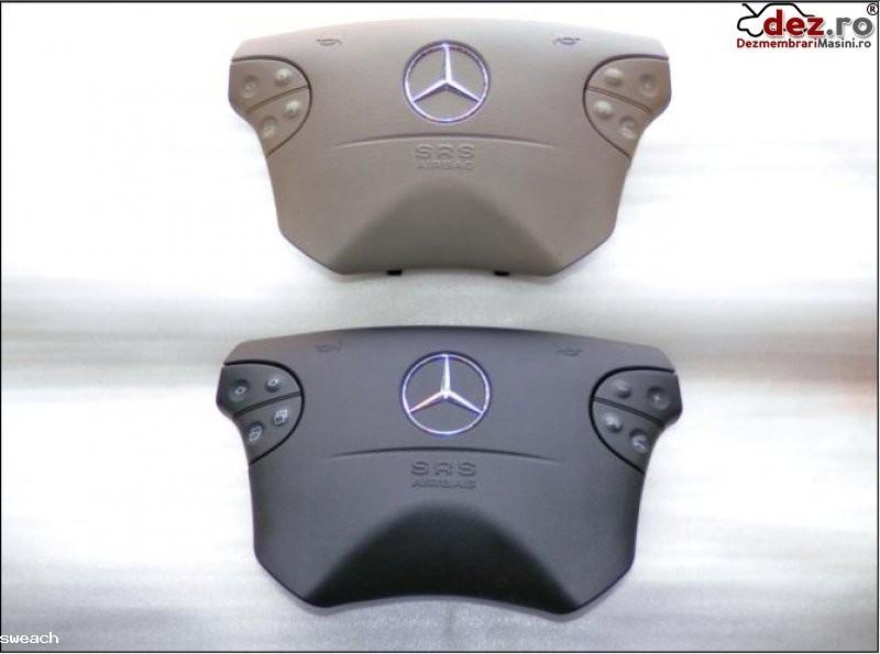 Mercedes benz g classe clk w208 e classe w210 airbag nou negru sau gri model... Dezmembrări auto în Aiud, Alba Dezmembrari