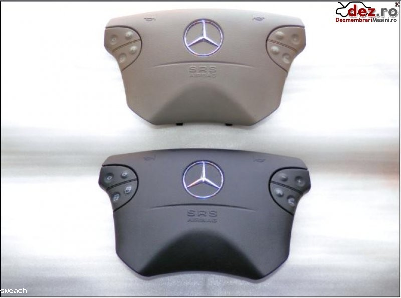 Mercedes benz g classe clk w208 e classe w210 airbag nou gri sau negru model... Dezmembrări auto în Aiud, Alba Dezmembrari