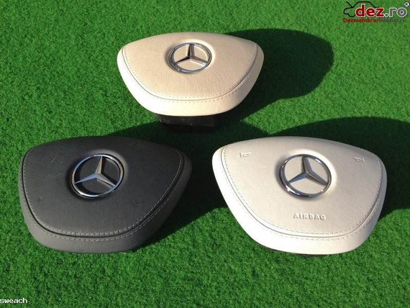 Mercedes benz s classe w222 capac airbag piele crem alb ani fabricatie 2013 Dezmembrări auto în Aiud, Alba Dezmembrari
