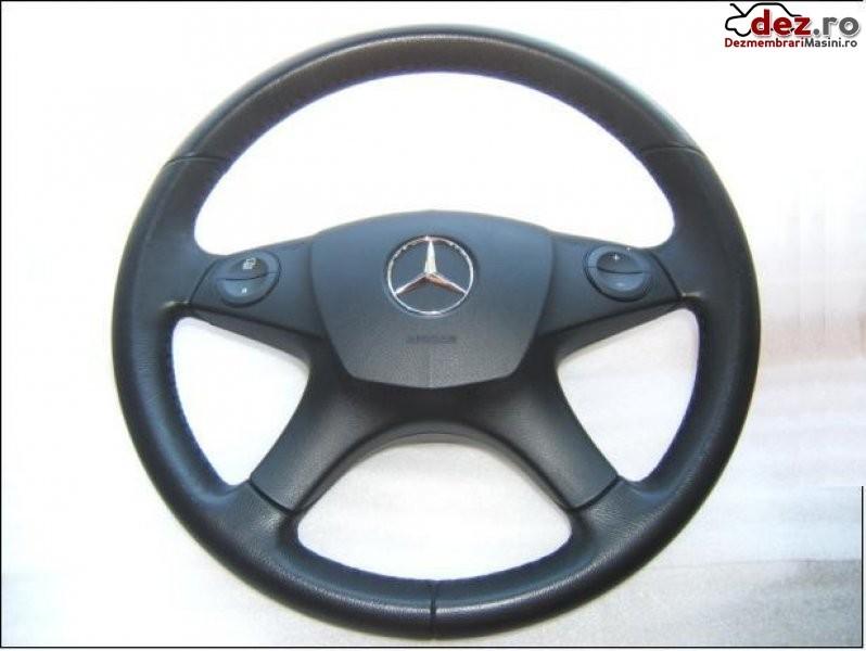Volan cu airbag mercedes c classe w204 2008 2011volan piele si airbag... Dezmembrări auto în Aiud, Alba Dezmembrari