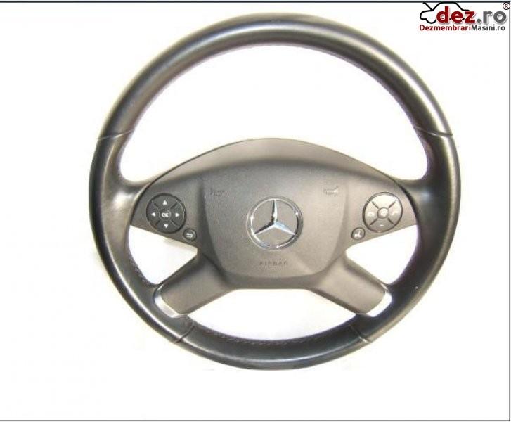 Volan Piele Cu Airbag Mercedes E 500 W212 Model 2009 Pana 2013 Dezmembrări auto în Aiud, Alba Dezmembrari