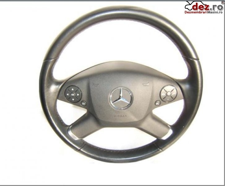 Volan Piele Cu Airbag Mercedes E 250 W212 Model 2009 Pana 2013 Dezmembrări auto în Aiud, Alba Dezmembrari