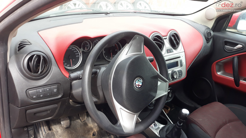 Kit Airbag Alfa Romeo Mito Livram Prin Curierat Rapid Cu Plata Ramburs La Dezmembrări auto în Ploiesti, Prahova Dezmembrari
