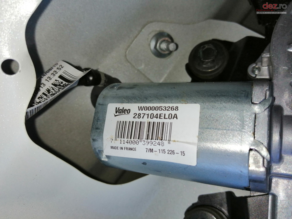 Motoras Stergator Haion Nissan Qashqai Cod 287104el0a  Piese auto în Ploiesti, Prahova Dezmembrari
