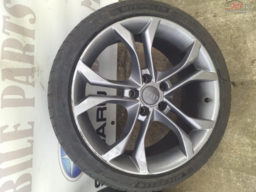 Jante Aliaj Audi A3 8p R18 22540 7 5jx18h2 Et54 Piese auto în Ploiesti, Prahova Dezmembrari