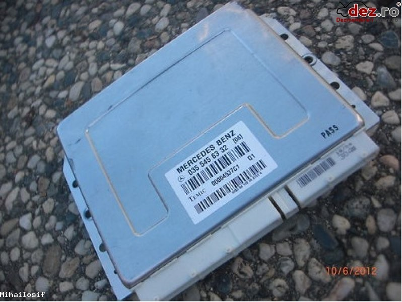 Calculator airmatic mercedes e class 500 4matic w211 2003 2006 a0355456332 Dezmembrări auto în Bucuresti, Bucuresti Dezmembrari
