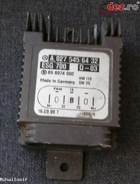 Controler electroventilator mercedes a class w168 s class w220 a027 545 64 32 Dezmembrări auto în Bucuresti, Bucuresti Dezmembrari