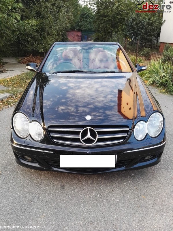 Dezmembrez Mercedes Clk 280 Benzina W209 Cabrio Tip 272 940 Dezmembrări auto în Bucuresti Sector 4, Ilfov Dezmembrari