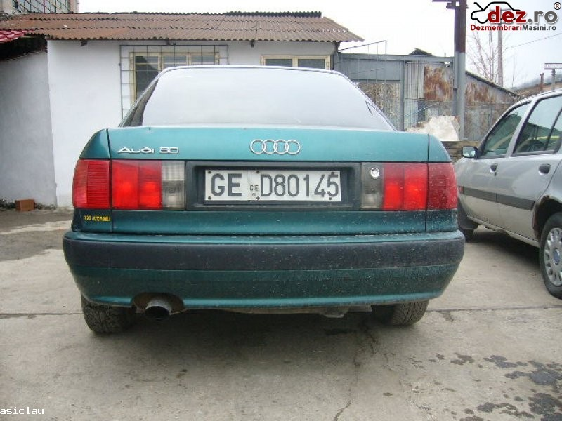 Dezmembrez orice piesa de audi 80 an 1993 motor 2 0 benzina elemente caroserie Dezmembrări auto în Resita, Caras-Severin Dezmembrari