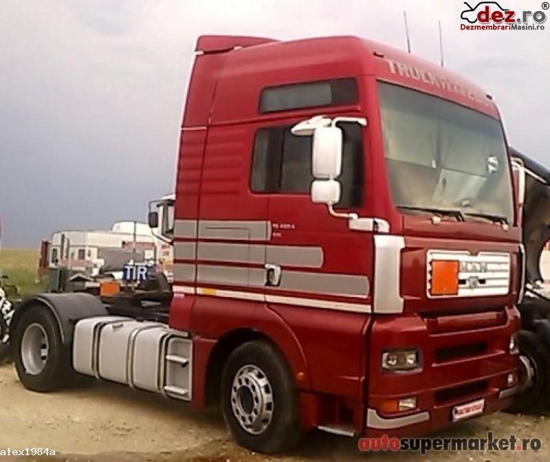 Dezmembrez MAN TG 460 A XXL an 2001 Euro 3 Dezmembrări camioane în Pitesti, Arges Dezmembrari