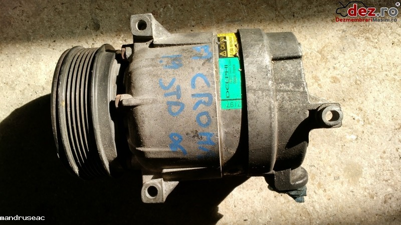 Compresor aer conditionat Fiat Croma 2007 cod 13197197 Piese auto în Iasi, Iasi Dezmembrari
