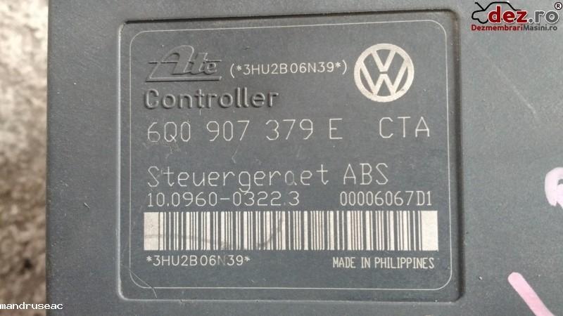 Calculator unitate abs Volkswagen Polo 2003 cod 6Q0907379E