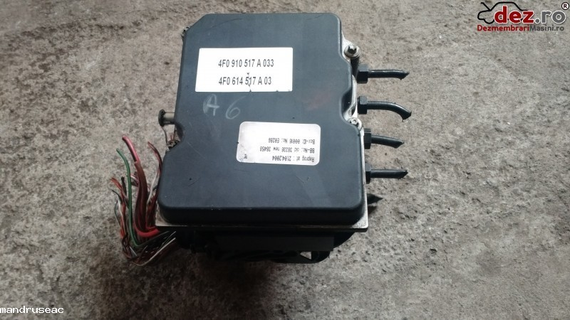 Calculator unitate abs Audi A6 2006 cod 0265234111,4F06