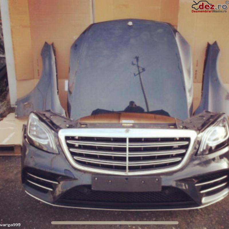 Vand Fata Completa Pentru Mercedes S Klass W222 Lift   Dezmembrări auto în Zalau, Salaj Dezmembrari