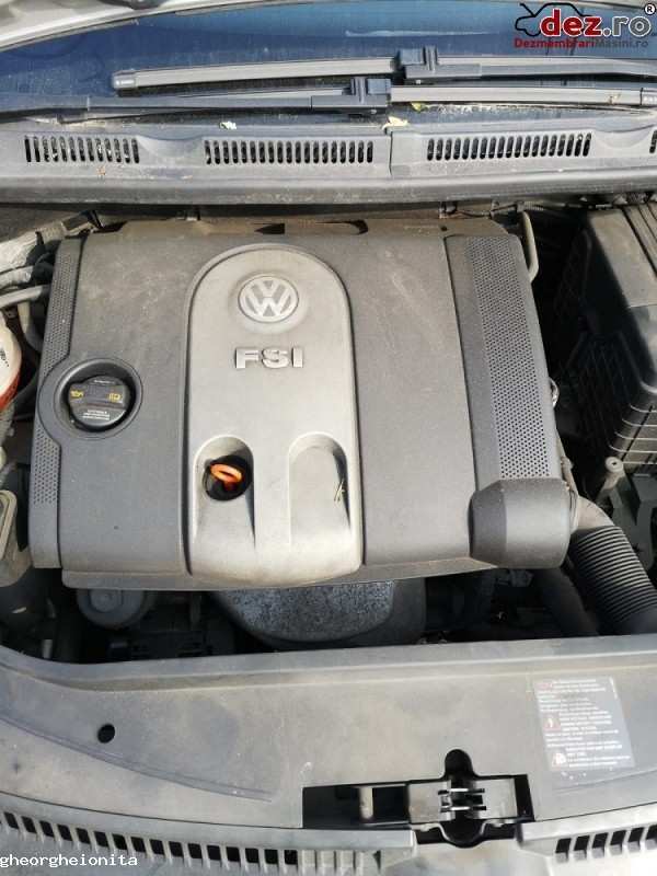 Dezmembrez Vw Golf 5 Plus An 2006 Motor 1 6 Fsi