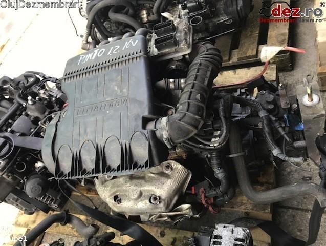 Motor fara subansamble Fiat Punto 2002 Piese auto în Cluj-Napoca, Cluj Dezmembrari