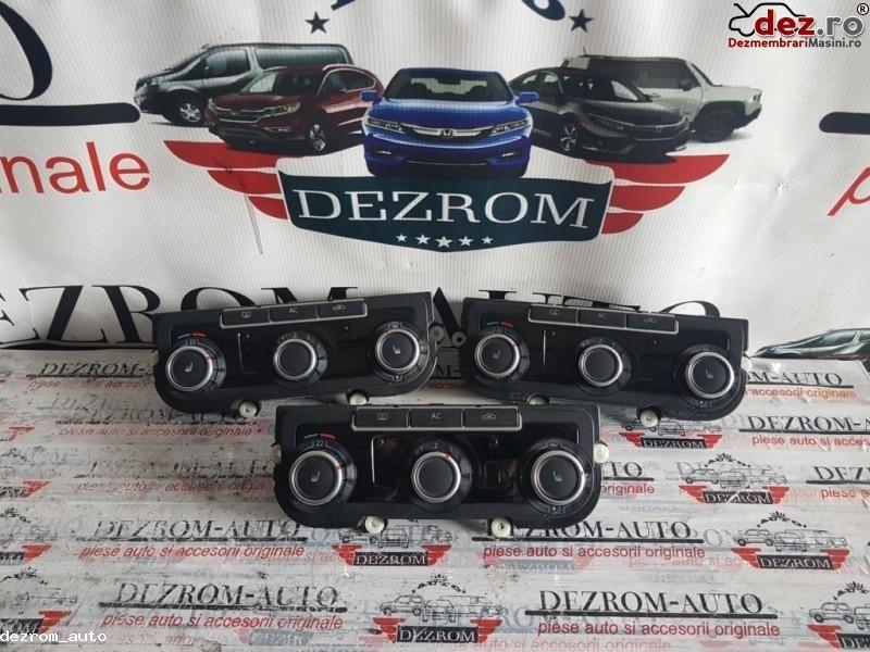 Comenzi clima Volkswagen Eos 2010 cod 3c8907336ac Piese auto în Slatina, Olt Dezmembrari