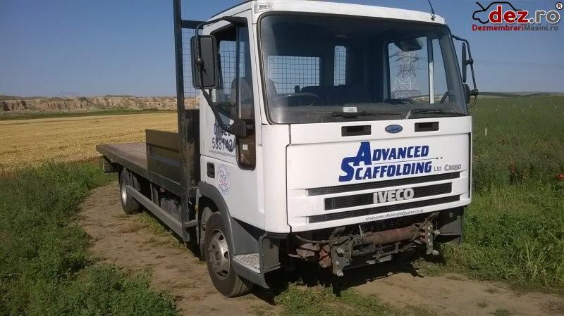 Dezmembrez iveco 75e15 disponibile cabina caroserie platforma motor