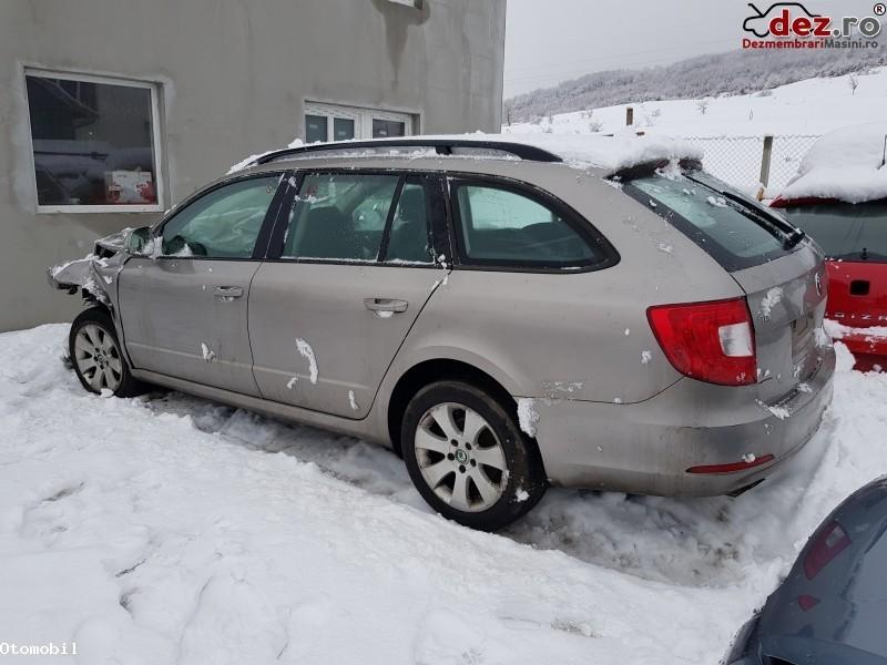 Dezmembrez Skoda Superb Combi 1 6 Tdi 5 1 Cay  Dezmembrări auto în Feleacu, Cluj Dezmembrari