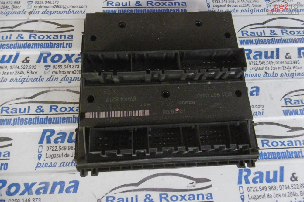 Calculator Confort Skoda Fabia 2 1 2b  cod 6q1937049f Piese auto în Oradea, Bihor Dezmembrari