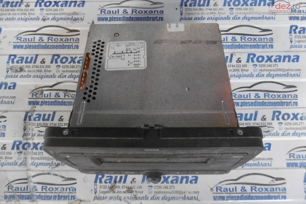 Cd Audio Skoda Fabia 2 1 2b  cod 5j0035161a Piese auto în Oradea, Bihor Dezmembrari