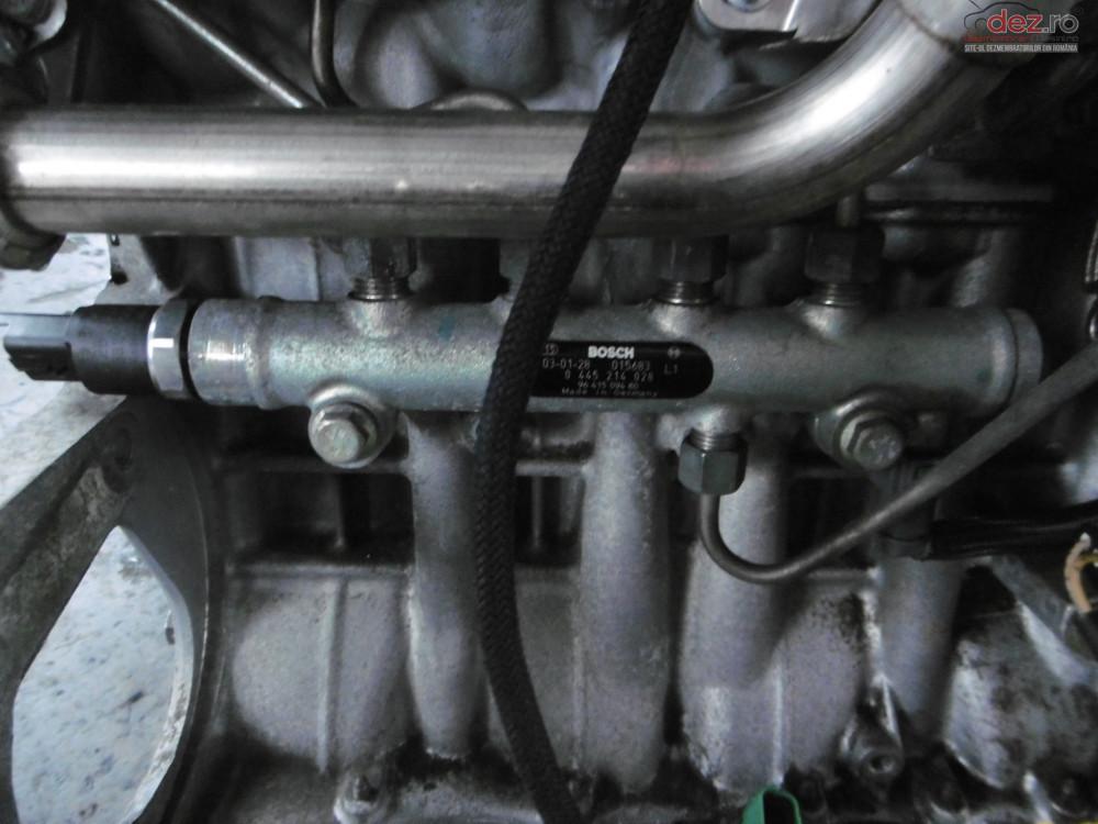 Rampa Injectoare Peugeot 206 1 4hdi 8hx  cod 0445214028 Piese auto în Oradea, Bihor Dezmembrari