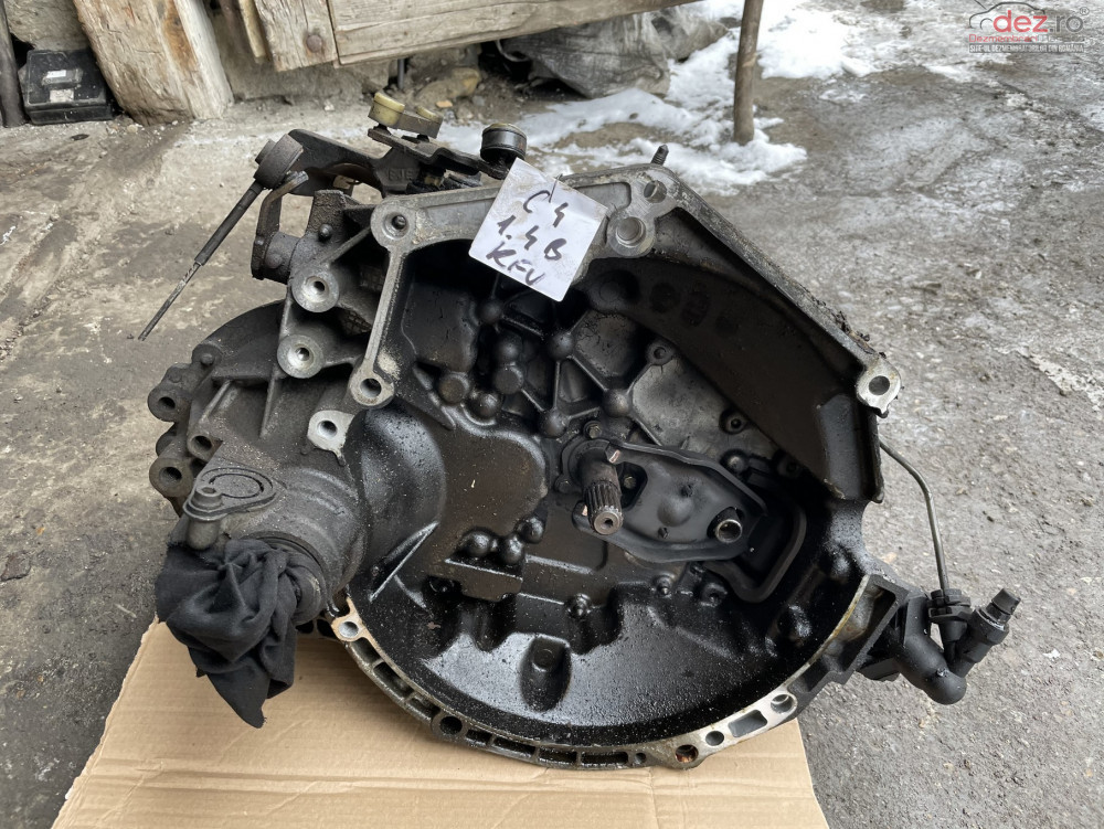Cutie Viteze Manuala 20cq15 Citroen C4 / Peugeot 307 1 4 Benzina Kfu Piese auto în Dej, Cluj Dezmembrari