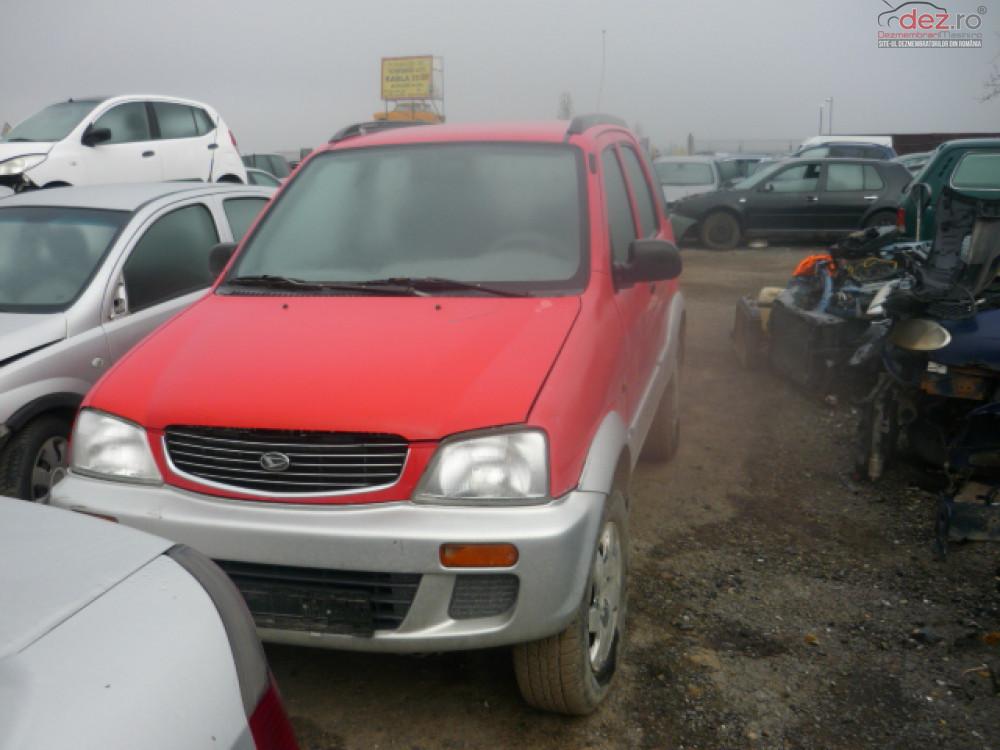 Dezmembrez Daihatsu Terios An Fabricatie 2001 Dezmembrări auto în Focsani, Vrancea Dezmembrari