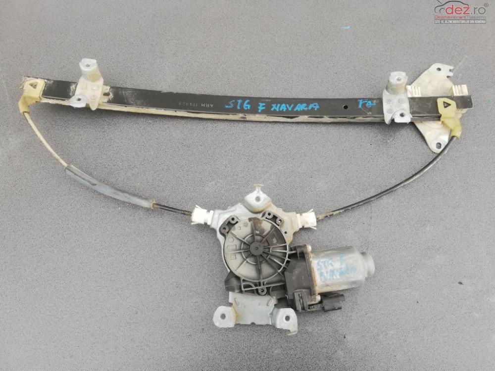 Macara Electrica Cu Motoras Geam Usa Stanga Spate Nissan Navara D40 cod ARM119043 Piese auto în Targoviste, Dambovita Dezmembrari