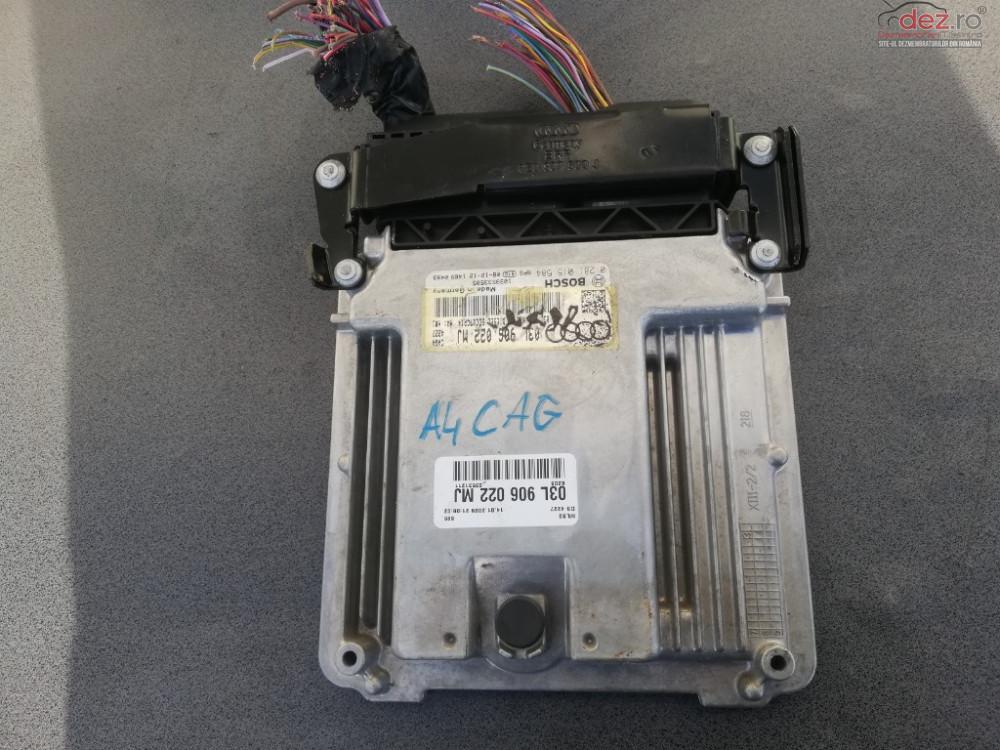 Ecu Calculator Motor Audi A4 B8 2 0 Tdi 143 Cai Motor Cag Manuala 6+1 cod 03L906022MJ Piese auto în Targoviste, Dambovita Dezmembrari