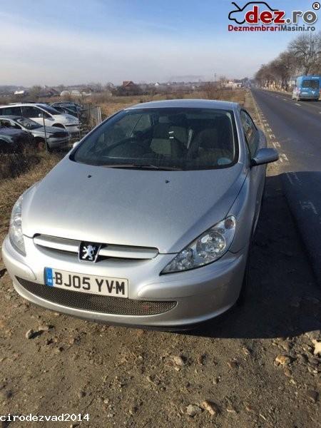 Dezmembrez peugeot 307cc an fabricatie 2004 2 0i   Dezmembrări auto în Petrosani, Hunedoara Dezmembrari