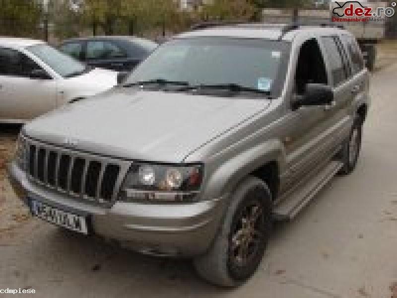 Dezmembrez Jeep Grand Cherokee Din 2000  Dezmembrări auto în Bragadiru, Ilfov Dezmembrari