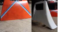 Paravant cabina MAN TGA cod TD100 Dezmembrări camioane în Cristesti, Mures Dezmembrari