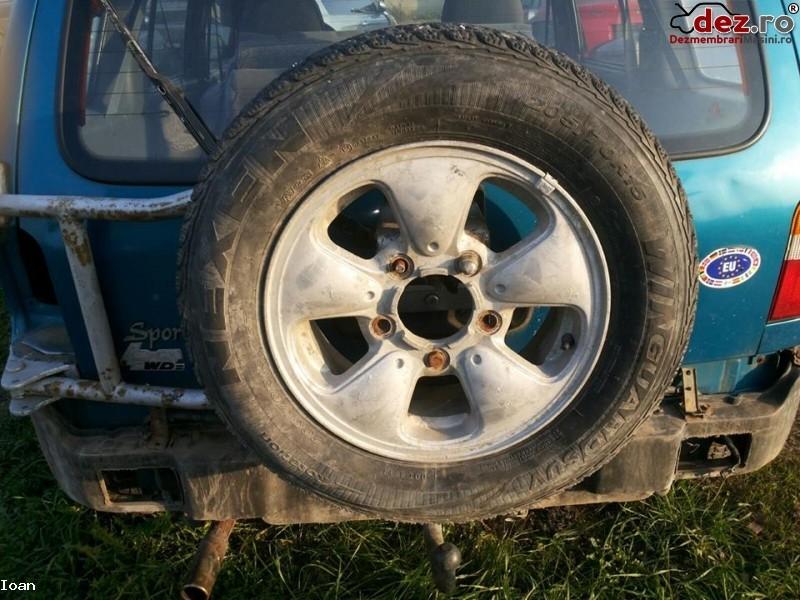 Jante aliaj Kia Sportage 1999 Piese auto în Santamaria-Orlea, Hunedoara Dezmembrari