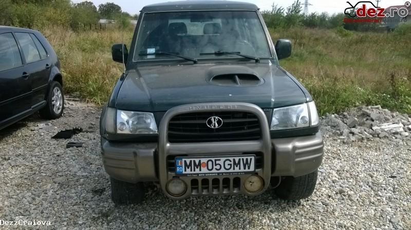 Dezmembrez Hyundai Galloper 2 5 Diesel 2000  Dezmembrări auto în Malu Mare, Dolj Dezmembrari