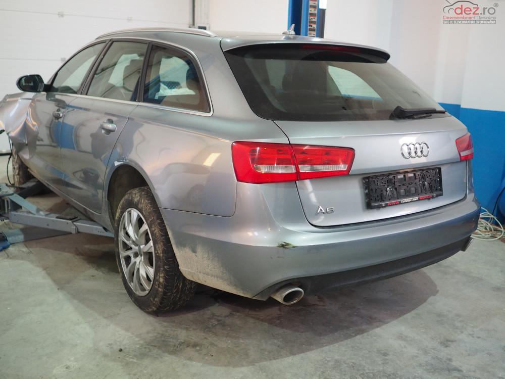 Vand Audi A6 quattro din 2012, avariat in fata Mașini avariate în Craiova, Dolj Dezmembrari