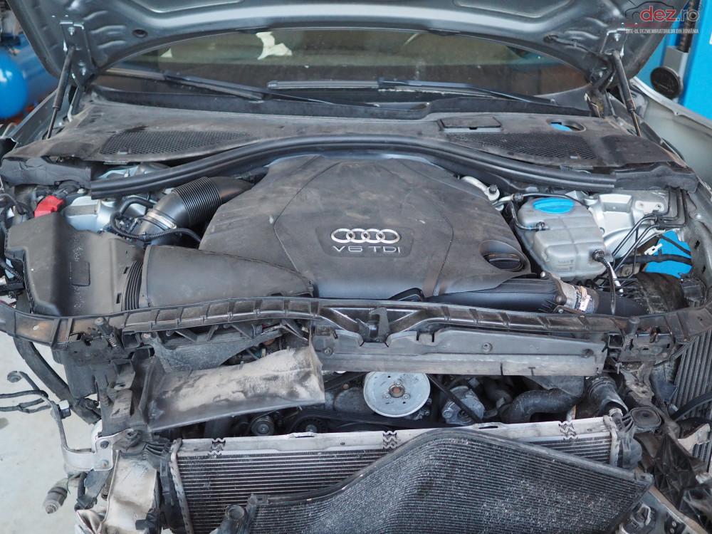 Vand Audi A6 quattro din 2012, avariat in fata