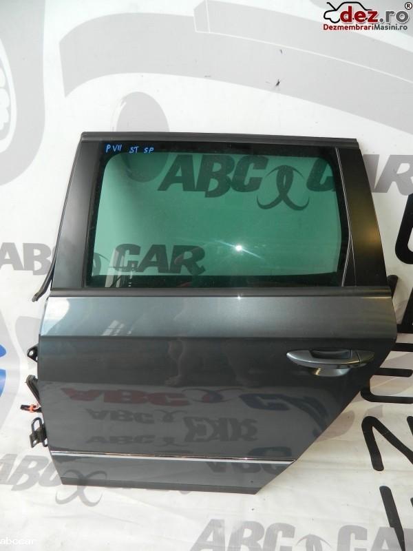 Geam usa spate, stanga Volkswagen Passat B6 2008 cod OEM