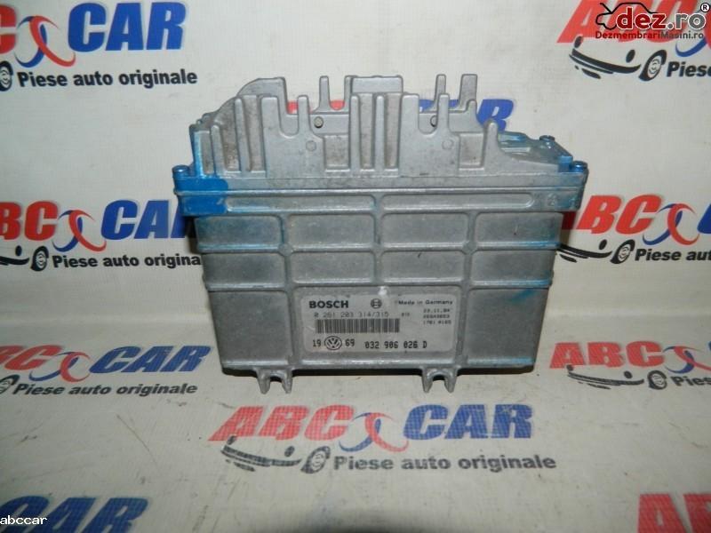 Calculator motor Skoda Felicia 2001 cod 032906026D Piese auto în Alesd, Bihor Dezmembrari