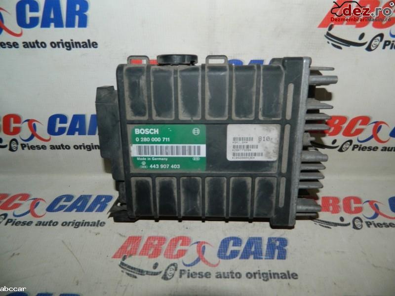 Calculator motor Volkswagen Golf 2 1992 cod 443907403 Piese auto în Alesd, Bihor Dezmembrari