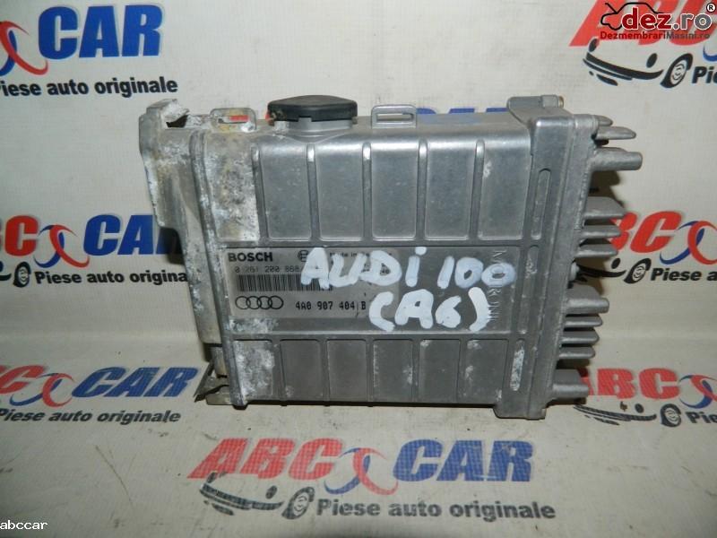 Calculator motor Audi 100 1991 cod 4A0907404B Piese auto în Alesd, Bihor Dezmembrari