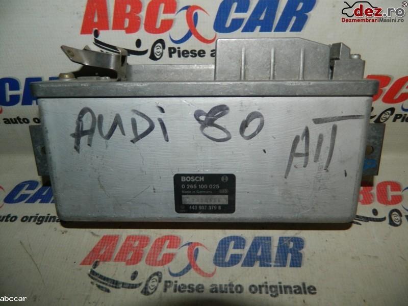 Calculator unitate abs Audi 80 B 3 1995 cod 443907379B Piese auto în Alesd, Bihor Dezmembrari