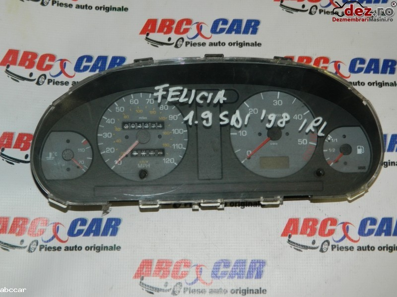 Ceasuri bord Skoda Felicia 1999 cod 6U2919033N Piese auto în Alesd, Bihor Dezmembrari