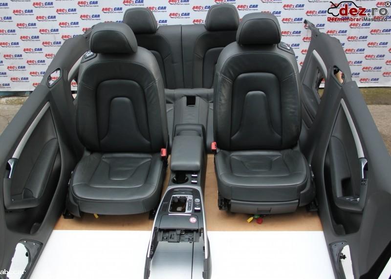 Interior Din Piele Electric Audi A5 (8f) Cabrio 2012 2015 Dezmembrări auto în Alesd, Bihor Dezmembrari